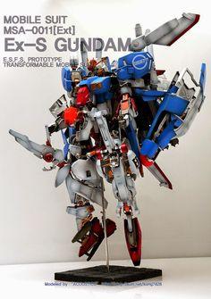ex s gundam papercraft - Google 검색
