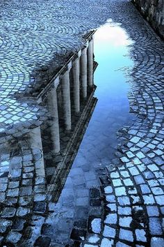 Reflection Photography apply it to film by having someone step into the puddle and then blur the image. I love taking puddle pictures! Reflection Art, Reflection Photography, Water Reflections, Water Photography, Creative Photography, Amazing Photography, Street Photography, Travel Photography, Digital Foto