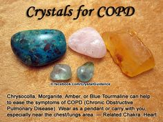 Crystal Guidance: Crystal Tips and Prescriptions - COPD (Chronic Obstructive Pulmonary Disease)