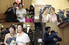 [Spoiler] 'The Legendary Witch' releases behind-the-scene stills for the final ending scene @ HanCinema :: The Korean Movie and Drama Database The Legendary Witch, Do Sang Woo, Hyun Kyung, Child Actors, Bridesmaid Dresses, Wedding Dresses, Be Still, Finals, Behind The Scenes