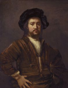 rembrandt van rijn | File:Rembrandt Harmensz van Rijn - Portret van een man met de handen ...