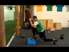 Elevated speed lunge