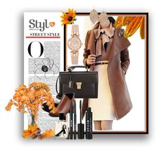"""Ready For Fall"" by selmagorath ❤ liked on Polyvore featuring Yves Saint Laurent, Stila, Nana de Bary, Anne Klein, Humble Chic and Ethan Allen"