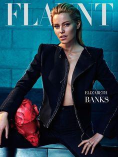 Elizabeth Banks Gets Dark for Flaunt Shoot by Hunter & Gatti - Fashion Gone Rogue