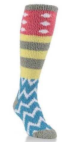 World's Softest Socks Cozy Knee Hi Calypso
