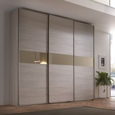 Sliding door wardrobe IT Wardrobe Design Bedroom, Wardrobe Furniture, Bedroom Bed Design, Home Room Design, Bedroom Furniture Design, Bedroom Wardrobe, Home Interior Design, Sliding Door Wardrobe Designs, Closet Designs