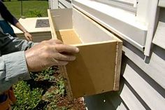 How to Build and Install Window Boxes: Tom Silva