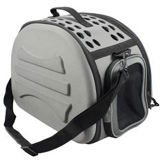 The narrow shelled lightweight collapsible military grade transportable designer pet carrier is composed of a unique tough lightweight pvc outershell.