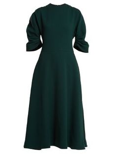 Amelia wool-crepe midi dress   Emilia Wickstead   MATCHESFASHION.COM US