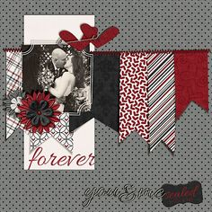 disney premade scrapbook page by urbansavanna by urbansavanna, $8.75