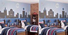 22 Spectacular Superhero Bedroom Ideas for Kids Marvel Bedroom, Teen Bedroom, Bedroom Decor, Bedroom Ideas, Cool Bedrooms For Boys, Superhero Room, Girl Bedroom Designs, New Room, Bed Design