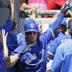 Colby Rasmus homers and drives in three runs to help the Blue Jays get past the White Sox and finish .500 at the break.  (AP)