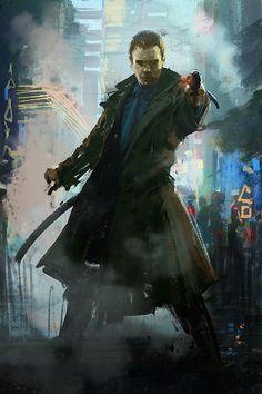 Blade Runner by Jan Ditlev Christensen
