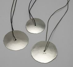 Three Disc Pendants : Kobi Bosshard