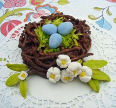 Candy Bird Nest...must make for Easter