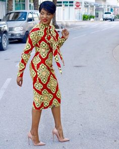 African woman traditional