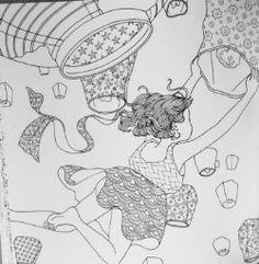 The Time Garden A Magical Journey And Coloring Book Daria Song Amazon