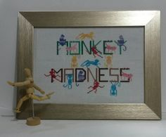 Hey, I found this really awesome Etsy listing at https://www.etsy.com/listing/234860093/rainbow-series-monkey-madness