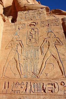 Abu Simbel and Aswan.