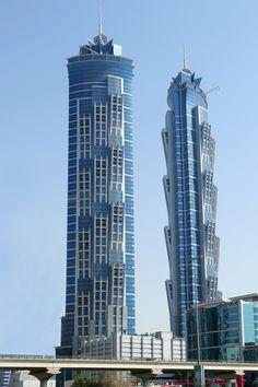 JW Marriott Marquis Hotel Dubai Tower 2 (355 meters), Record-Breaking 53 Skyscrapers Built in Asia in 2013