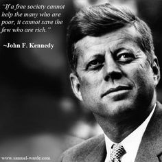 JFK speaks