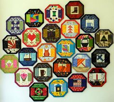 24 Mug Rug Designs in 1 Quilt Pattern - NO Binding! Coaster, Table Mat for all Holidays - PDF Immedi Mug Rug Patterns, Quilt Patterns, Pdf Patterns, Paper Piecing, Yule, Owl Basket, Doodle, Cocoa Tea, Mugs