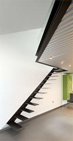 para escaleras flotantes escaleras metalicas escaleras modernas pasamanos barandillas arquitectos herreria moderna sube