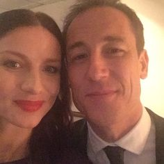 """""""And the lovely Tobias Menzies #Outlander #TartanAffair"""""""