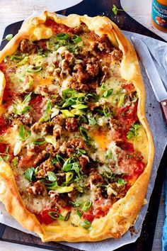 Snacks Pizza, Pizza Recipes, Crockpot Recipes, Vegan Recipes, Dinner Recipes, Pizza Kebab, Sauce Pizza, Canned Blueberries, Vegan Scones