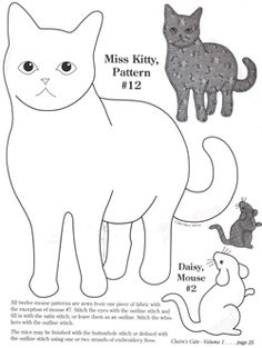 Pattern Example claire's cats...to buy