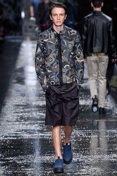 Fendi Spring 2016 Menswear Fashion Show - Mason Frizelle