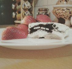 Oreo and  cake