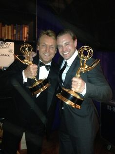 Emmy Winners Doug Davidson and Billy Miller