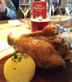 Pork Knuckle with Dar Beer  by jarrodbkk #haxenhaus #people #food