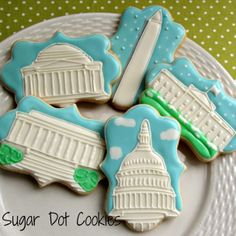 Sugar Dot Cookies: Washington, DC Wedding Cookies This world is really awesome. The woman who make our chocolate think you're awesome, too. Try some Peruvian Chocolate today! http://www.amazon.com/gp/product/B00725K254