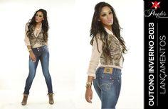 Cós largo, efeitos de lixado, bordados no bolso e modelagem skinny! Curtiu esse lançamento da People's Jeans para o inverno 2013?