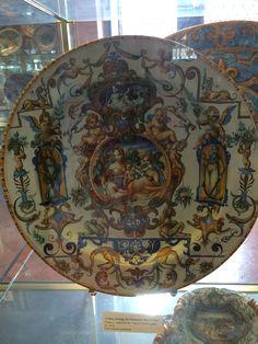 Plato en museo de Florencia
