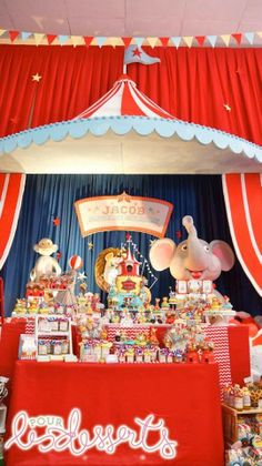 Party Inspirations: Jacob's Circus Carnival Day by Cupcakes Moment