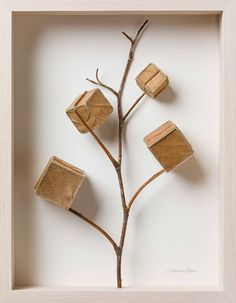 Artist Susanna Bauer adds threaded embellishments to dried leaves, creating miniature sculptures that explore the hidden beauty and Colossal Art, Small Sculptures, Dry Leaf, Photo Projects, Community Art, Cross Stitch Embroidery, Crochet, Sculpture Art, Fun Crafts