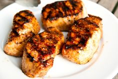 """Guava Smoked Pork Chops from the blog """"The Shoebox Kitchen"""""""