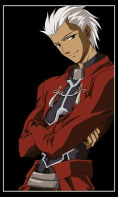 Archer - Fate stay night Boyfriend's favorite anime character (L) Fate Stay Night Characters, Fate Stay Night Anime, Manga Boy, Anime Manga, Noragami Anime, Me Me Me Anime, Anime Guys, Type Moon Anime, Fate Archer