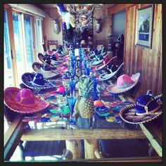 Mexican Fiesta themed party