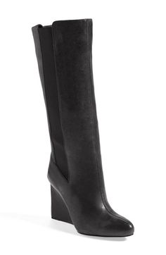 See by Chloé 'Vicky' Wedge Boot (Women) available at #Nordstrom