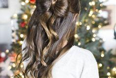 40 pretty long hairstyle ideas for Christmas that looks cute - FASHIONFULLFIT Pretty Long H. - 40 pretty long hairstyle ideas for Christmas that looks cute - FASHIONFULLFIT Pretty Long Hairstyle Ideas For Christmas Day That Looks - Cute Hairstyles For Kids, Diy Hairstyles, Hairstyle Ideas, Hair Ideas, Pixie Haircut Fine Hair, Christmas Party Hairstyles, Cool Braids, Long Curly Hair, Clip In Hair Extensions