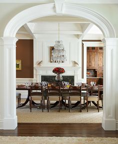 Arch Trim Design Ideas, Pictures, Remodel and Decor