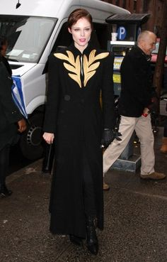 Coco Rocha Evening Coat