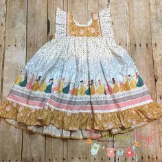 """@twosnugglebugs - """"Once there was a king who had 12 beautiful daughters"""" The Twelve Dancing Princesses top will be available Sunday at 8pm CT only at the @handmadedesignersgroup #twosnugglebugs #shophandmade #12dancingprincesses #hawthornethreads"""