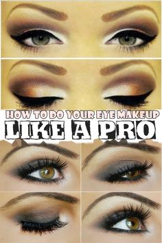 How to do your eye makeup like a pro