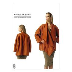 Mccall Pattern V1346 Xs-S-M -Vogue Pattern