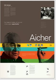 Aicher and the vector before vector.